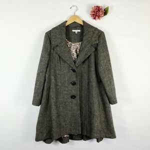 [CABI] Shaespeare Coat Wool Blend Tweed